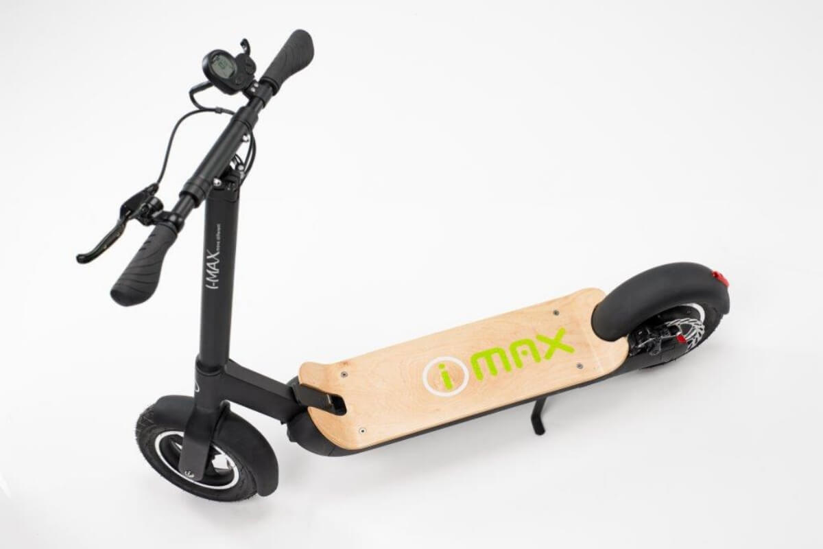 iMax-S1-Electric-Scooter-Birdseye-View